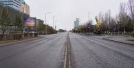 Астананың көктемгі көрінісі