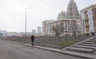 Виды города Нур-Султан весной