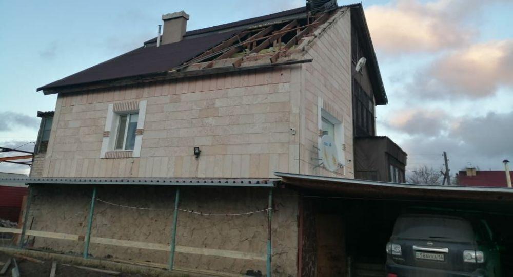 Многодетная семья пережила штормовой ветер в Акмолинской области
