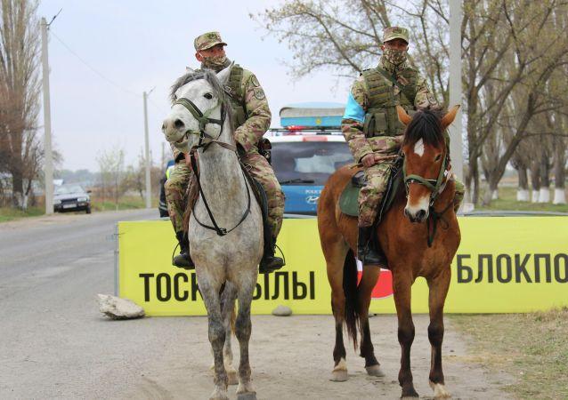 Подразделения горно-егерского полка заступили на дежурство в Таразе