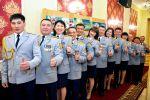 Полицейские Петропавловска записали песню с призывом оставаться дома