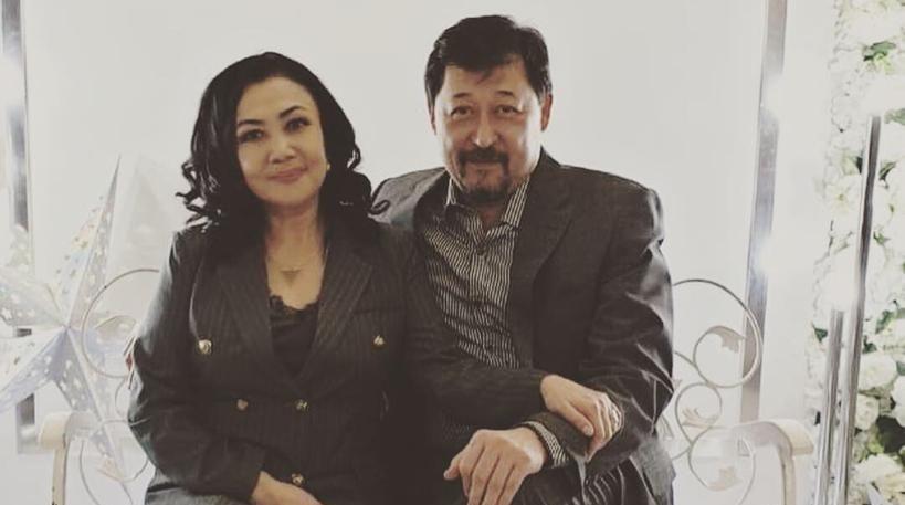Азат Сейітметов пен Данагүл Темірсұлтанова