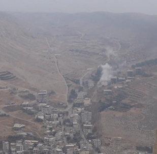 Сирийская армия взяла под контроль источник пресной водыв окрестностях Дамаска