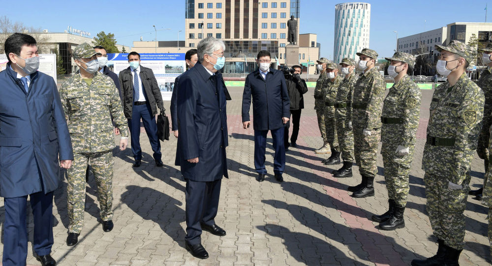 Касым-Жомарт Токаев встретился с военнослужащими, призванными на сборы