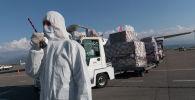 Гуманитарлық көмек, архивтегі фото
