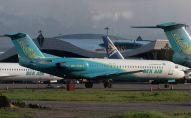 Самолеты компании Bek Air в аэропорту Алматы