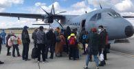 Военный борт доставил 40 казахстанцев из Минска на родину - МИД