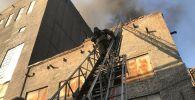 Пожар на ТЭЦ в Темиртау