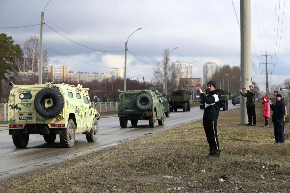 Подготовка к параду Победы