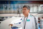 Главный тренер мужской сборной Казахстана по боксу Галымбек Кенжебаев