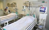 Модульная инфекционная больница, построенная в течение двух недель в условиях ЧП в связи с пандемией коронавируса в Нур-Султане