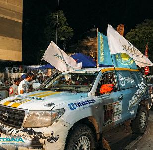 Astana Motorsports жеңіл экипажы Дакар-2017 қола жүлдегері атанды