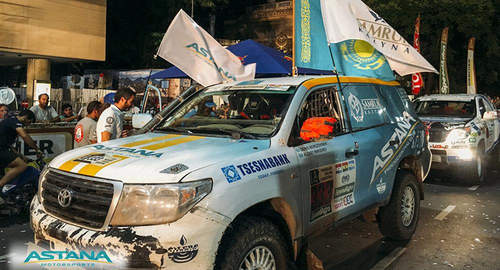 Легковой экипаж Astana Motorsports занял 3 место на Дакаре-2017 в своем классе
