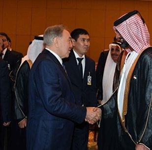 Встреча Нурсултана Назарбаева с представителями деловых кругов ОАЭ