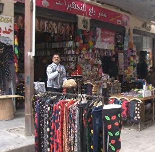 Алеппода көше базары ашылды