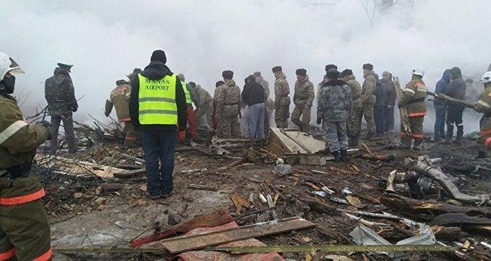 Крушение самолета недалеко от аэропорта Манас, 16 января 2017 года