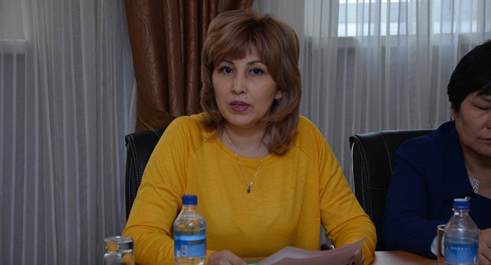 Директор Центра формирования здорового образа жизни Акмарал Курманбаева