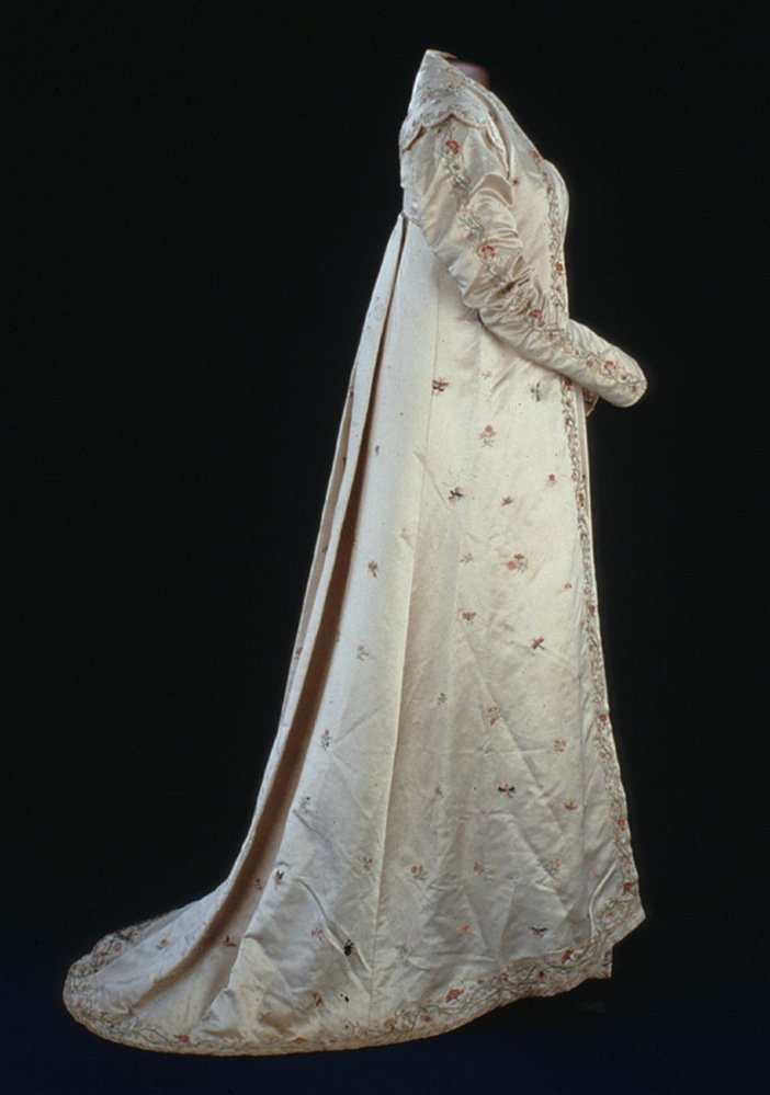 Платье Долли Мэдисон, в котором она была на инаугурационном балу в 1809 году
