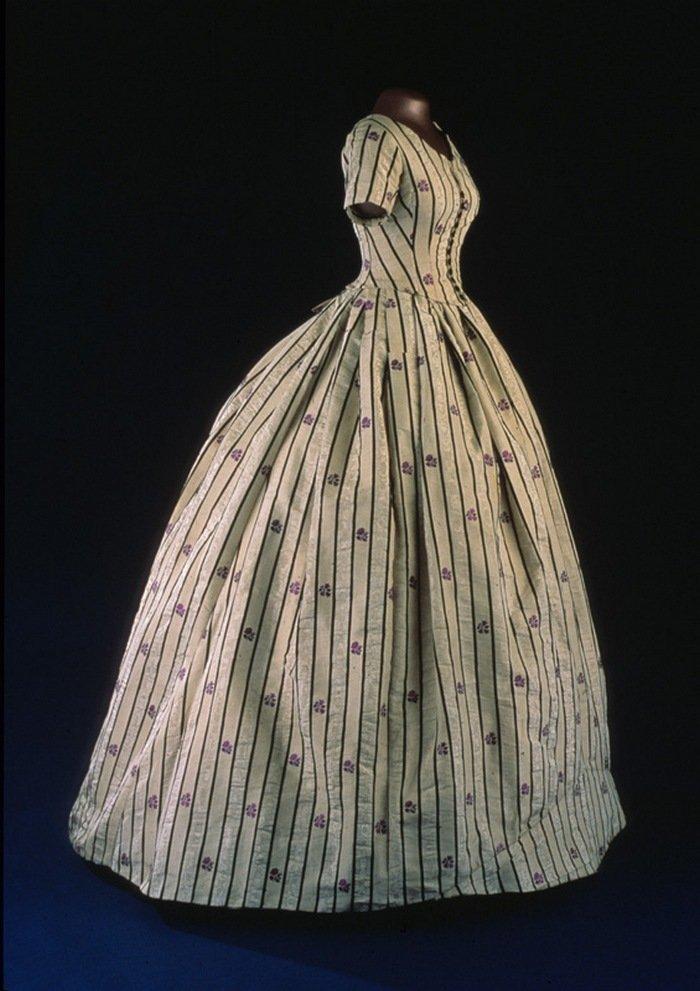 Платье из тафты Мэри Линкольн
