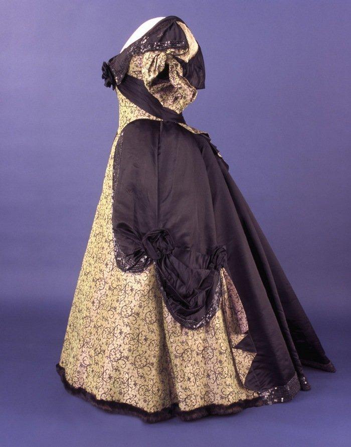 Платье Фрэнсис Кливленд, надетое на второй инаугурационный бал