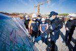Алтай Кульгинов проверил строительство очистных сооружений в центре столицы