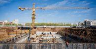 Строительство очистных сооружений в микрорайоне Молодежный в Нур-Султане