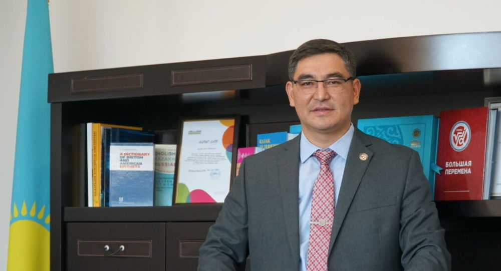 Ректор университета имени Сулеймана Демиреля, доктор общественного здравоохранения Куаныш Ергалиев