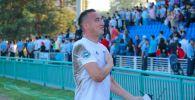 Казахстанский футболист Алмат Бекбаев. ФК Жетысу