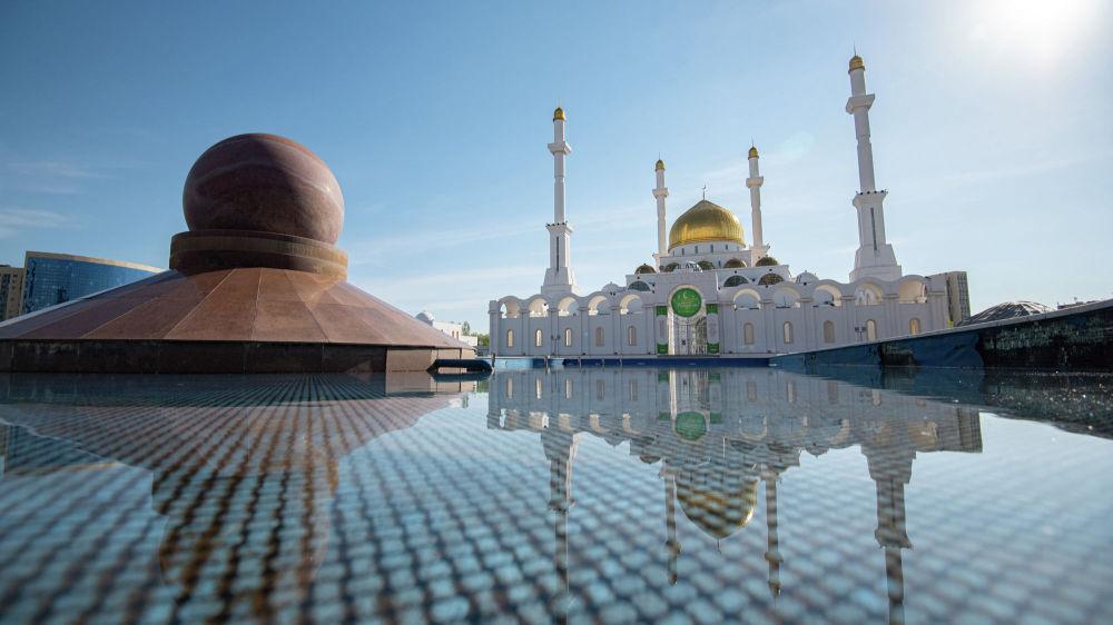 Мечеть Нур-Астана на карантине во время Священного месяца Рамазан