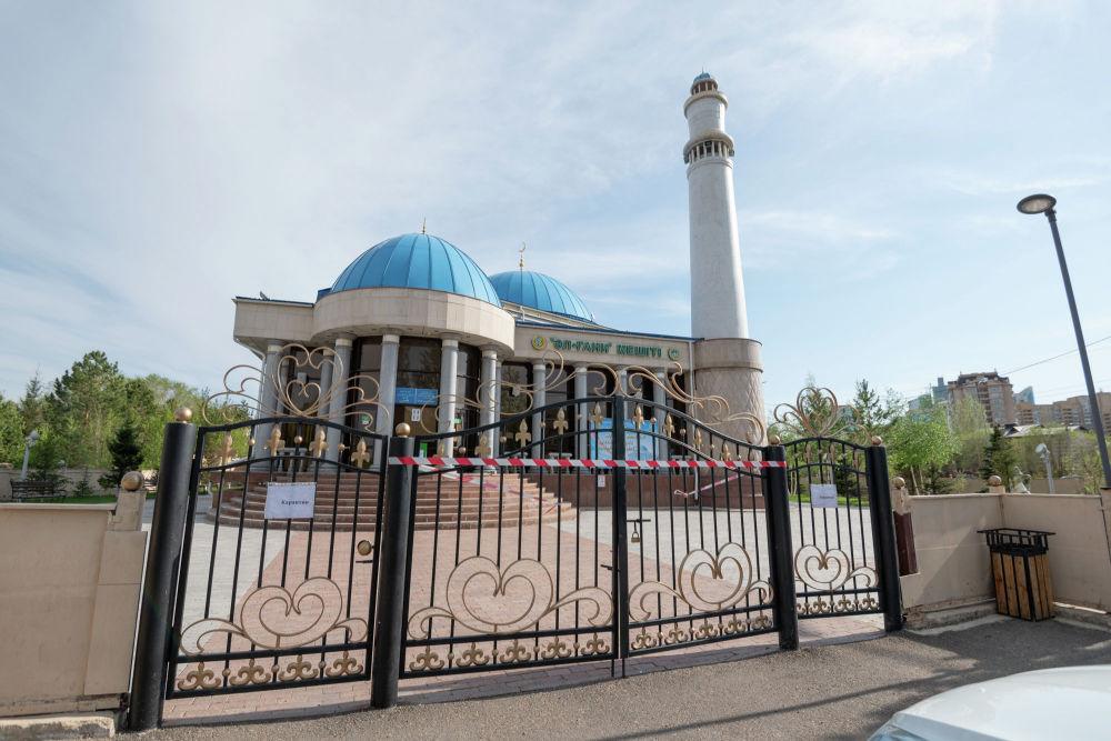 Мечеть Аль-Гани на карантине во время Священного месяца Рамазан