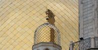 Купола центральной мечети Алматы