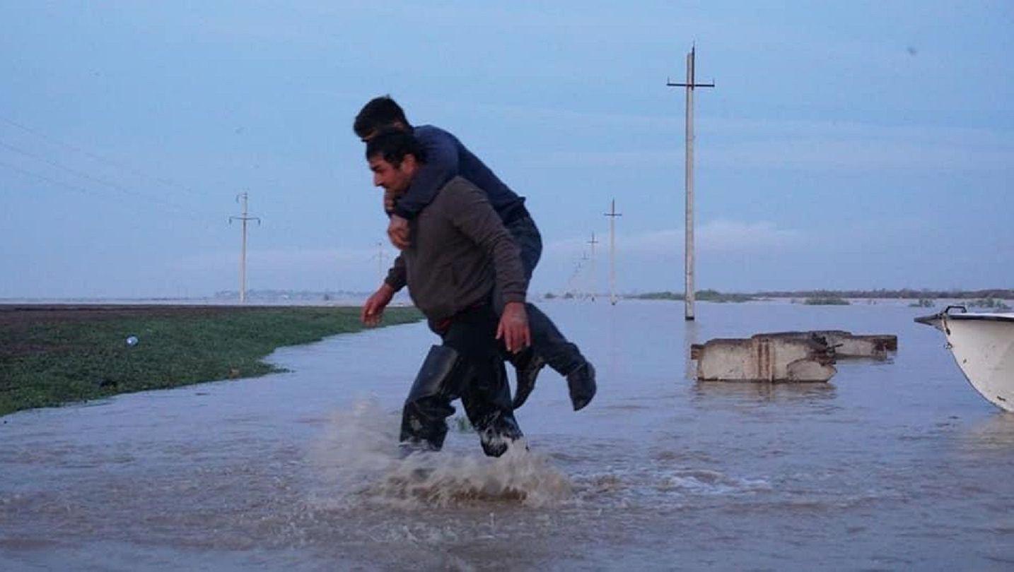 Подтопления в Туркестанской области