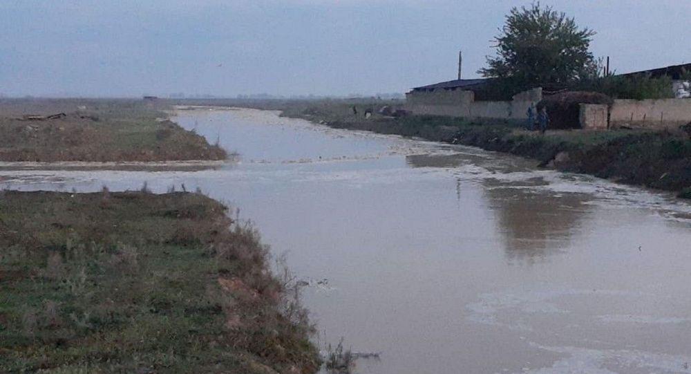Түркістан облысында ауылдарды су басты