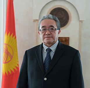 Временный поверенный в делах посольства Кыргызской Республики в РК Кайнарбек Токтомушев
