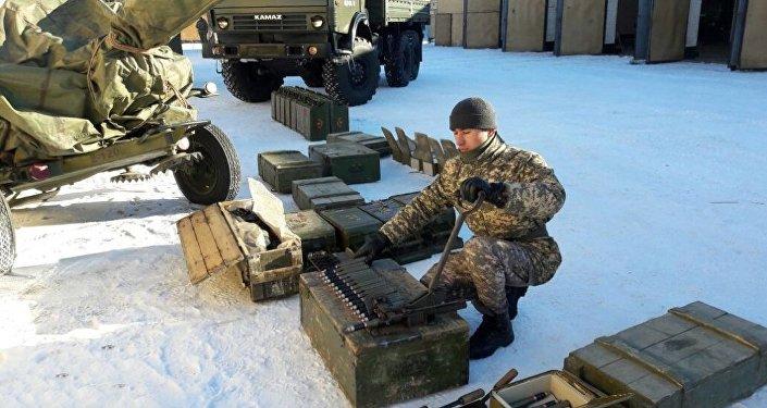 Командно-штабные учения проходят в ВС РК