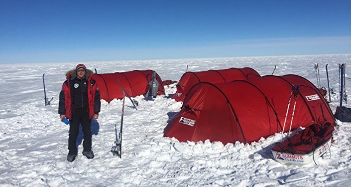 Участники экспедиции КазГео в Антарктиде