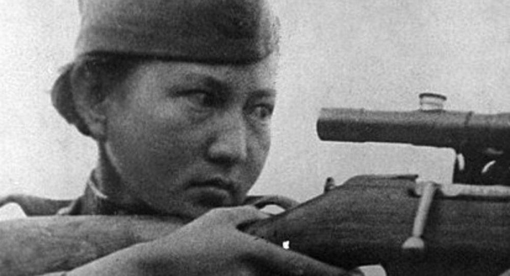 Кеңес одағының батыры Әлия Молдағұлова