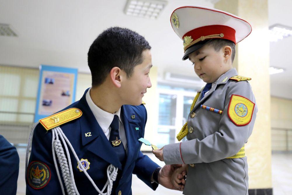 Юный патриот Казахстана