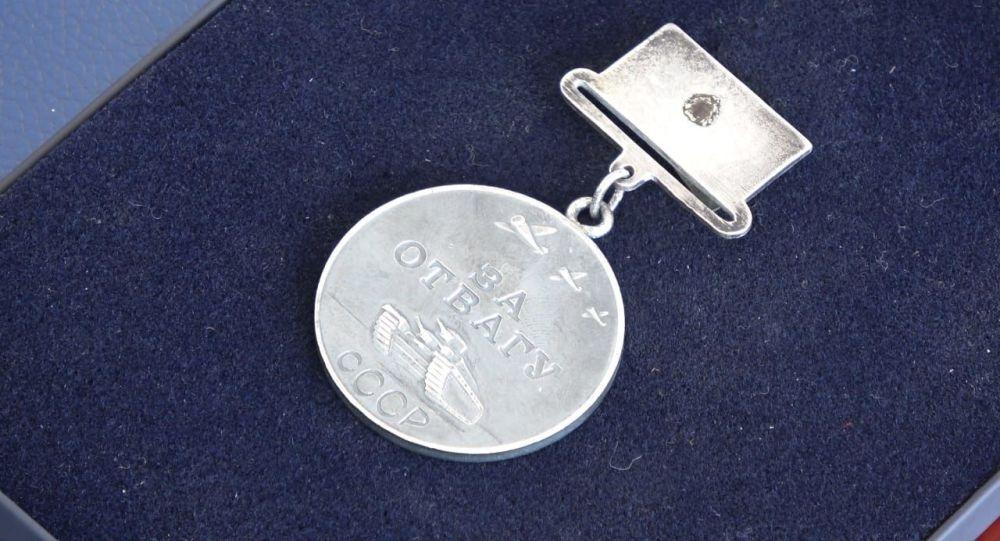 Медаль За отвагу Абдулманата Таипова