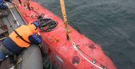 Подводный аппарат Витязь совершил погружение на дно Марианской впадины