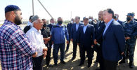 Премьер-министр Казахстана Аскар Мамин провел встречу с премьер-министром Узбекистана Абдуллой Ариповым в Мактааральском районе