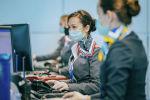 Air Astana әуекомпаниясының қызметкерлері