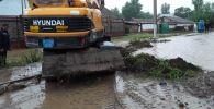 Дождь в Туркестанской области