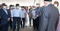 Бауыржан Байбек передал мактааральцам слова поддержки от Елбасы
