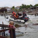 Спасатели устраняют последствия подтопления  в Мактааральском районе