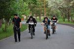Астанчане выбрались в парки после почти двухмесячного карантина