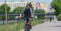 Во время карантина многие алматинцы пересели на велосипеды