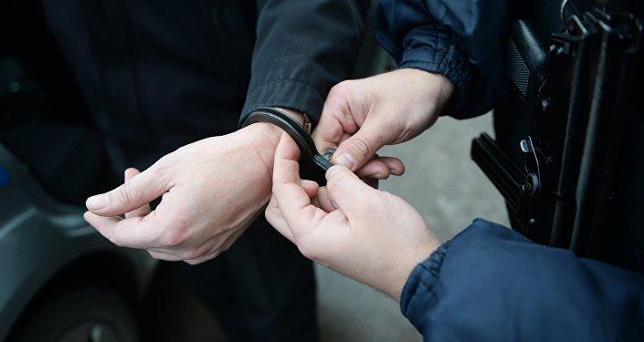 Арест, задержание. Архивное фото.