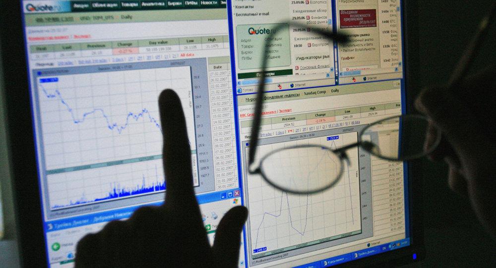 график биржа торги