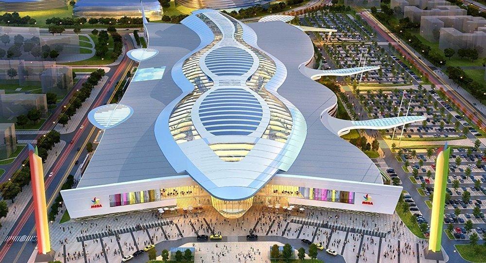 Торгово-развлекательный центр Mega Silk Way в Астане